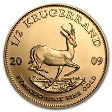 1/2 oz Gold Krügerrand - Südafrika Goldmünze Verschiedene Jahrgänge