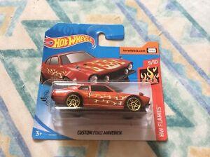 Hot Wheels Flames - Custom Ford Maverick
