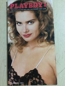 Playboy Catalog Summer 1992 sexy cover Tonya Beyer centerfold+ order form intact