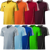 adidas Climalite Mens Estro Football Training Top Jersey T Shirt Gym Sport Run