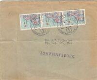 Mozambique 1950 Airmail to Johannesburg PH J6086