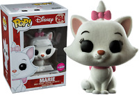Marie Flocked Aristocats DISNEY Funko Pop Vinyl New in Mint Box + Protector