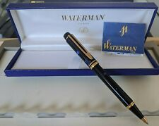New WATERMAN MAN 200 RHAPSODY BLUE PEN STYLO IDEAL LACQUER 100 OR FOUNTAIN RARE