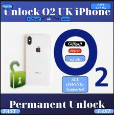 o2/giffgaff /Tesco ✅iPhone X,8/8+,7/7+,6s/6s+,SE To 3gs unlocking Fast Service✅