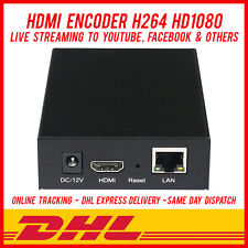 H264 VIDEO HDMI ENCODER LIVE STREAMING BROADCAST- FACEBOOK LIVE YOUTUBE WOWZA
