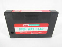 MSX HIGH WAY STAR Cartridge only Import Japan Video Game msx