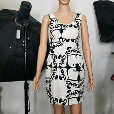 Tori Richard Honolulu Dress Size 4 Black and White