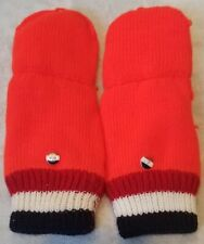 Official Vancouver 2010 Netherlands Team Mittens from Dutch NOC NON RETAIL RARE