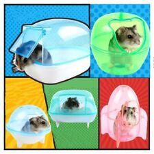 Hamster Cage Bathroom Sauna Bathtub Small Pet Hamster Accessories House Luxury