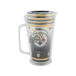 Pittsburgh Steelers NFL Plastic Pitcher Tailgate Set