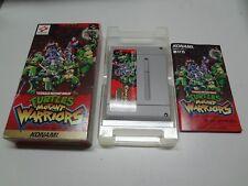 Turtles Mutant Warriors Nintendo Super Famicom Japan/C