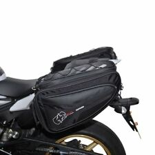 Oxford P50r 50 Litre Motorbike Motorcycle Panniers Expandable Luggage Black