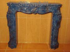 Kaminkonsole Dekokamin Kaminumbau Marmor Optik Marmoriert Möbel Deko 1840 Fa119