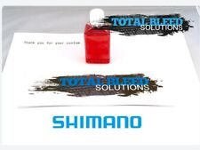 50ml of Genuine Shimano Mineral Oil. Hydraulic Brake bleed Oil Deore XTR ZEE SLX