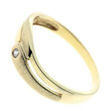 Damen Ring echt Gold 333 8 Karat Zirkonia 407 W50