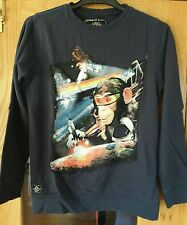 Pre owned Boys NEXT navy top sweatshirt jumper size 11 years