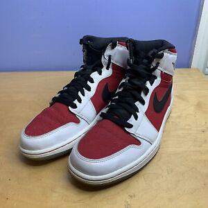 2014 Nike Air Jordan 1 Retro High OG Carmine Men's Size 10 555088-123