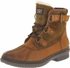 UGG Women's Cecile Winter Boot, Chestnut, Size 6 M