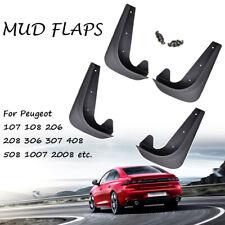 Front Rear Mud Flaps Mudflaps For Peugeot 108 208 308 SW Mudguard Splash Guards