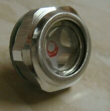 Hydraulic Fluid Oil Tank Level  Indicator 22mm 3/8bspp