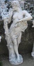 "Steinfigur massiv ""Flora"" 120 cm Venus Frau Dame Statue Skulptur Steinguss Neu"