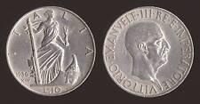 10 LIRE 1936 IMPERO - ARGENTO/SILVER - VITTORIO EMANUELE III