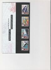 1988 ROYAL MAIL PRESENTATION PACK TRANSPORT & COMMUNICATIONS MINT DECIMAL STAMPS