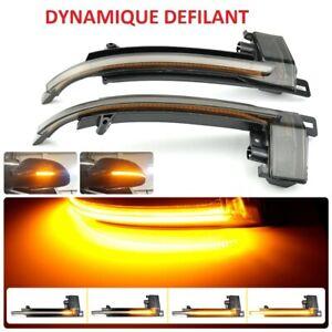 CLIGNOTANTS LED DYNAMIQUE AUDI A6 4F2 4F5 C6 BERLINE AVANT 10/2008-03/2011 NOIR