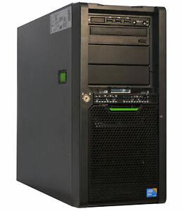 Pro 64-BIT Server Quad Core FSC Primergy TX150 S7 Raid SATA 250HDD 8GB RAM V42