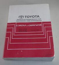 Taller de mano libro motivo manual de toyota corona + Carina e stand 2/1992