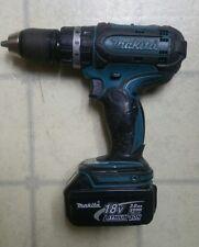 """Makita BHP452 BHP 452 18V Lithium Ion 1/2"""" Cordless Hammer Drill 3.0 Ah Battery*"""