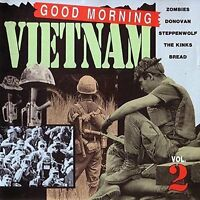 Good morning Vietnam 2 Zombies, Donovan, Steppenwolf, Kinks, Bread.. [CD]