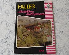 Faller  --  Modellbau Magazin 841 !