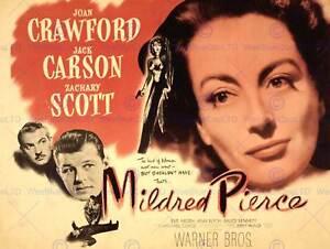 MOVIE FILM MILDRED PIERCE CRAWFORD JOAN DRAMA ART PRINT POSTER BB7536