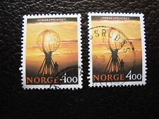 NORVEGE - timbre yvert et tellier n° 1026 x2 obl (A04) stamp norway
