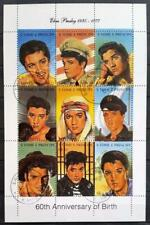 SAO TOME AND PRINCIPE - 1994 - Elvis Presley - Minisheet of 9 USED stamps