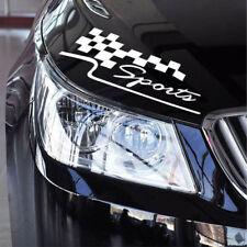 Decal Racing Car Sticker Auto Sport Styling Vinyl Car Body Generic Sticker White