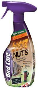 Squirrel Repellent Spray Hot Nuts Chilli Pest Deterrent Defenders 750ml Natural