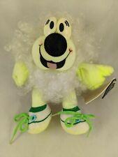 "Jelly Beans Plush 8"" Green White Hair Transworld Trading Gp Stuffed Animal Toy"