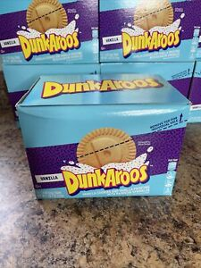 Dunkaroos 12 Pack Snack Vanilla Creme Rainbow Sprinkles Rare Sold Out