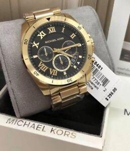 Michael Kors Brecken Chronograph Gold-tone Watch MK8481