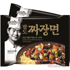Paldo Jjajangmen Korean Chinese Noodles Black Bean Sauce Instant Chajang Ramen