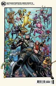 BATMAN FORTNITE ZERO POINT #2 - DC COMICS - COVER C-NEW/SEALED WITH GAME CODE