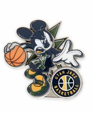 Disney Pin DS Mickey NBA Experience Basketball Uniform Utah Jazz