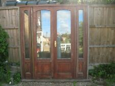 wooden double glazed patio/french doors