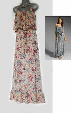Backstage Majorca Floral Print Summer Beach Full Length Maxi Dress MEDIUM  $209