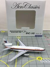 VERY RARE AeroClassics 1:400 AC419340 United Douglas DC-10-10