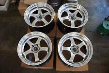"JDM 18"" pcd114.3x5 wheels meister Style professor Style s1 sp1 350z r34 v35 370z"