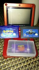 Gameboy advanced sp with 3 games