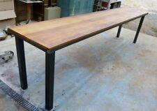 Table /console de drapier meuble  industriel bois mètal loft tendance vintage